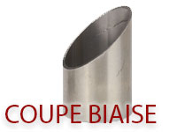 coupe biaise